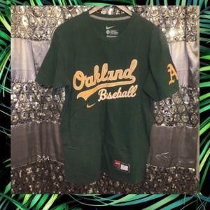 Oakland Baseball NFL Nike T-Shirt Large